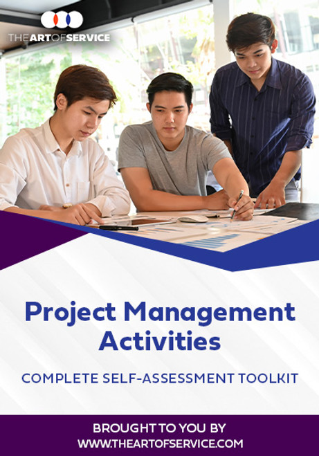 Project Management Activities Toolkit