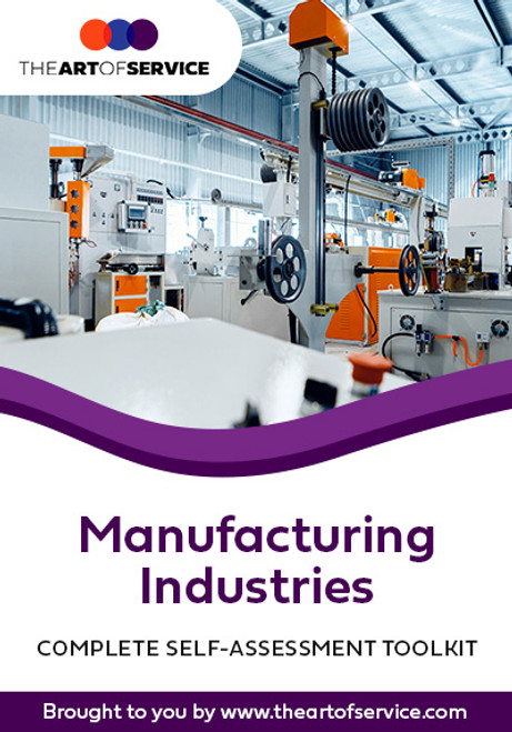 Manufacturing Industries Toolkit
