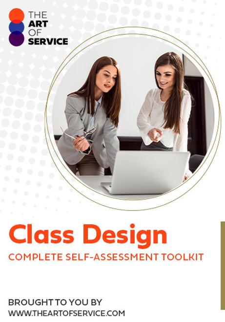 Class Design Toolkit