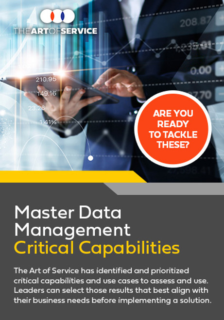 Master Data Management Critical Capabilities 3
