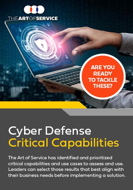 Cyber Defense Critical Capabilities