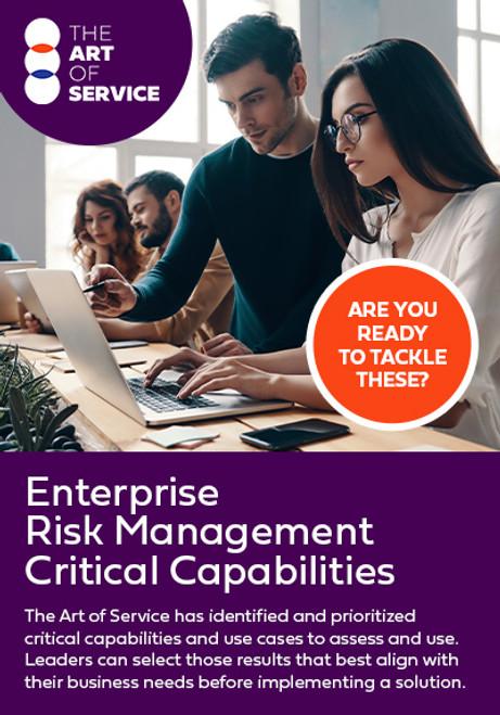 Enterprise Risk Management Critical Capabilities