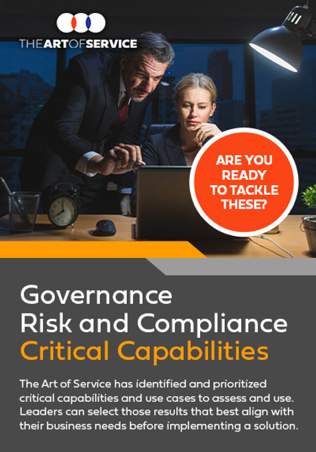 Governance Risk and Compliance Critical Capabilities