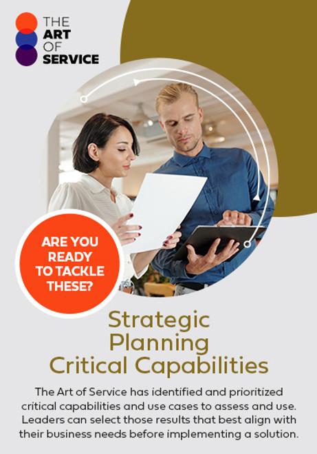 Strategic Planning Critical Capabilities