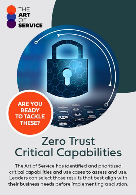 Zero Trust Critical Capabilities