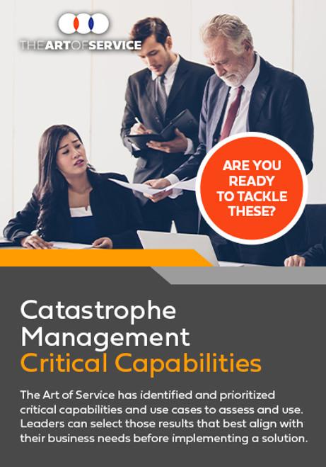 Catastrophe Management Critical Capabilities