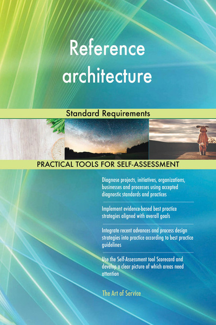 Reference architecture Standard Requirements