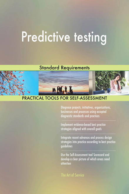 Predictive testing Standard Requirements