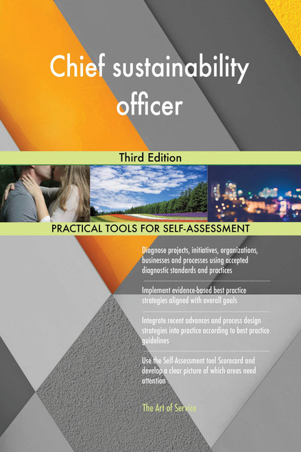Chief sustainability officer Third Edition