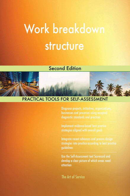 Work breakdown structure Second Edition