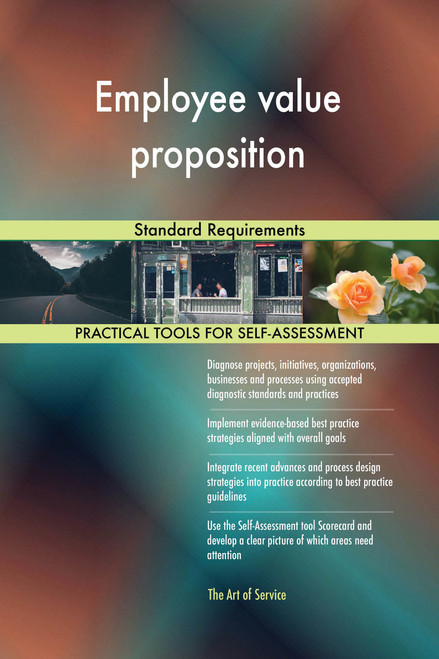 Employee value proposition Standard Requirements