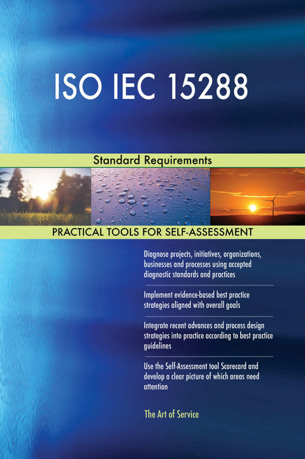 ISO IEC 15288 Standard Requirements