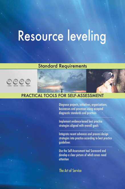 Resource leveling Standard Requirements