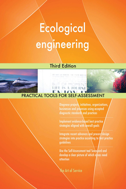 Ecological engineering Third Edition