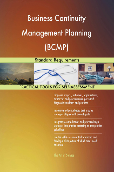 Business Continuity Management Planning (BCMP) Standard Requirements