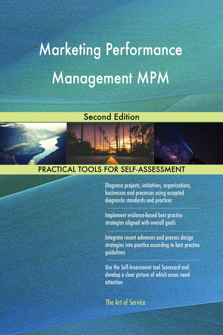 Marketing Performance Management MPM Second Edition