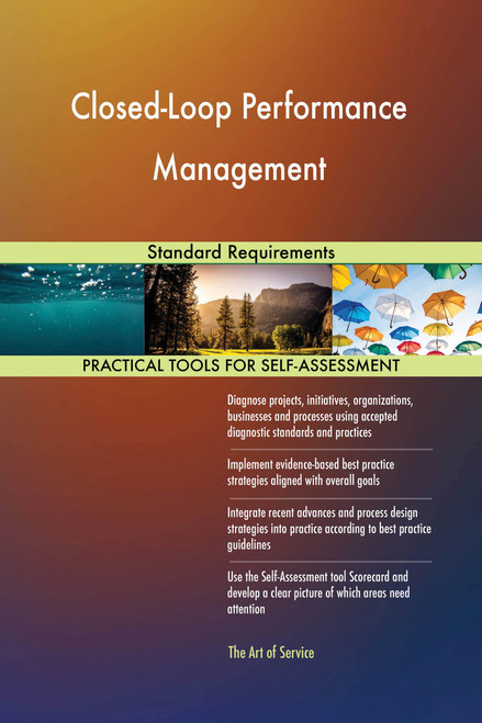 Closed-Loop Performance Management Standard Requirements