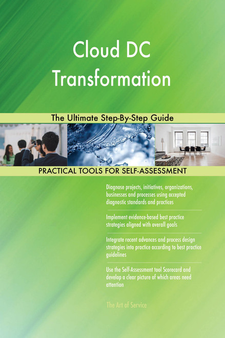 Cloud DC Transformation The Ultimate Step-By-Step Guide
