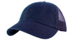 Navy Cotton Twill Mesh Cap