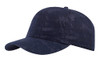 Navy Cotton Crackle Washed Cap