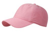 Pink Washed Nylon Cotton Twill Cap