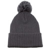 Grey AC1070 Acrylic Toque with Pom | Toque.ca