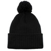 Black AC1070 Acrylic Toque with Pom | Toque.ca