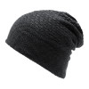 Charcoal Heather CK1080 Slouchy Knit Beanie | Toque.ca