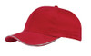 Red Brushed Cotton 3M Scotchlite™ Reflective Cap