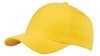 Gold Brushed Cotton Stretchable Fitted Cap