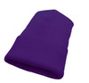 Purple - AC1010 Acrylic Knit Winter Toque with Cuff | Toque.ca