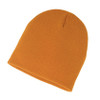 Burnt Orange - AC2890 Acrylic Knit Fine Gauge Toque | Toque.ca