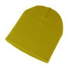 Muddy Yellow - AC2890 Acrylic Knit Fine Gauge Toque | Toque.ca