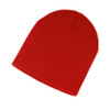 Red - AC2890 Acrylic Knit Fine Gauge Toque | Toque.ca