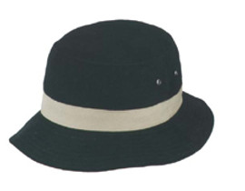Black/Khaki Bucket Hat