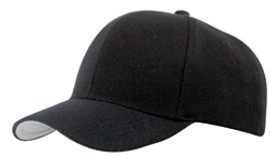 Black Wool Serge UR' Fit™ Fitted Cap