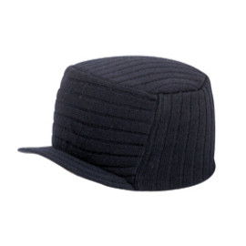Navy Ultra Soft Acrylic Knit Trucker Hat