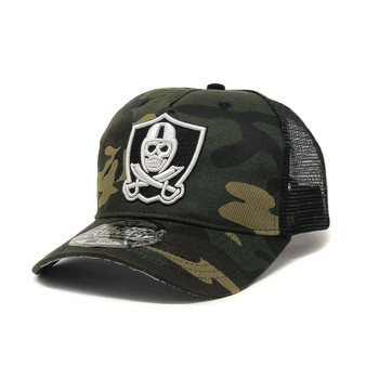 Shield Logo Trucker Hat - Camo