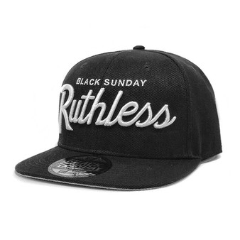 Ruthless Snap Back Hat - Black
