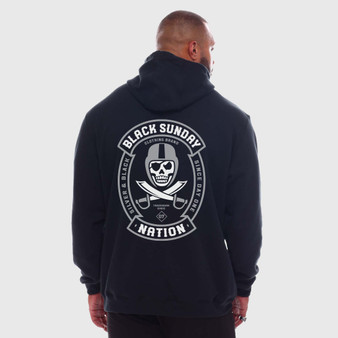 Nation Label X Carhartt Men's Pullover Hoodie