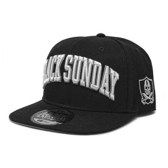 Black Sunday Brand Hat - Black