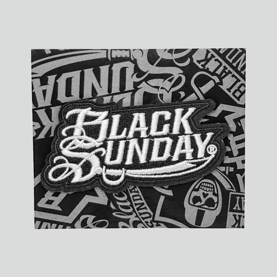 Black Sunday Logo Patch