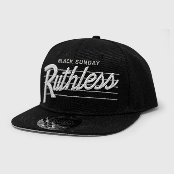 Ruthless Chain Snap Back Hat - BLACK