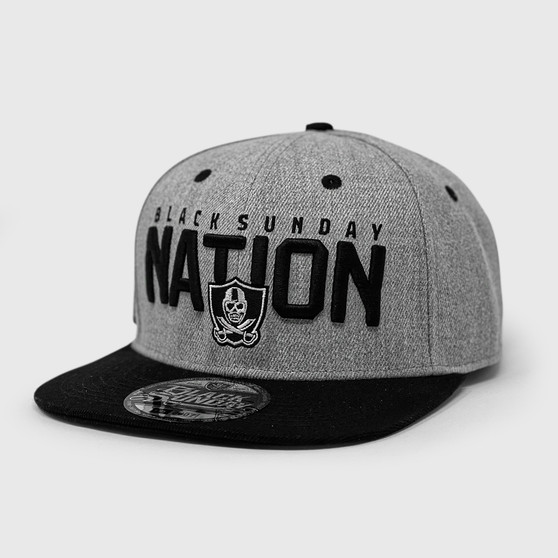 State of the Nation Snap Back Hat - Grey Heather