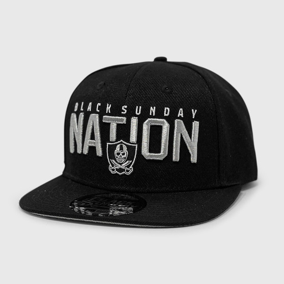 State of the Nation Snap Back Hat - BLACK