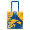 West Coast Eagles Laminated Shopping Bag