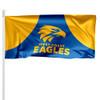 West Coast Eagles Pole Flag 1.8m