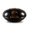 West Coast Eagles Sherrin AFLW Super Soft Football Black/Gold