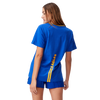 West Coast Eagles Cotton On AFLW Women's Run Out Tee Royal