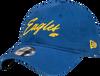 West Coast Eagles New Era 9Twenty Retro Script Cap Royal